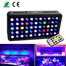 led aquarium light with timer timer wireless control 165 watt full spectrum dimmable led aquarium