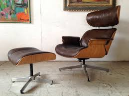 vintage eames lounge chair and ottoman madmen plycraft selig lounge chair ottoman s also remarkable eames