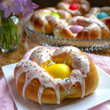 italian easter egg individual italian easter bread rings easy step by step