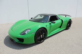Porsche 918 Green - russo and steele russo and steele rolls out an incredible