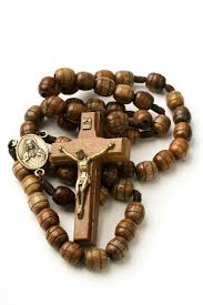wooden rosary rosary necklace for men wooden brown carved strong cord rope