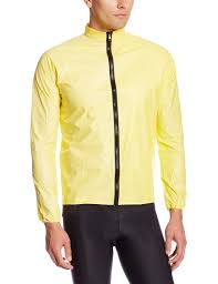 hooded cycling jacket rainshield o2 unisex cycling rain jacket yellow