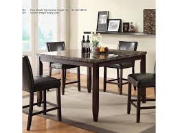 u s furniture inc 2720 dinette transitional five piece faux