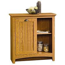 Sauder Kitchen Furniture Sauder Storage Cabinet Carolina Oak Walmart
