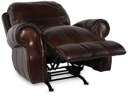 usa leather cowboy rocker recliner mathis brothers furniture