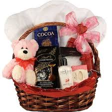 valentines baskets valentines gift basket for a woman gift basket for a woman bath