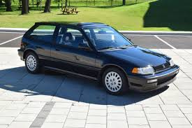 1991 honda civic si hatchback honda civic hatchback 1991 black for sale 2hged736xmh008077 1991