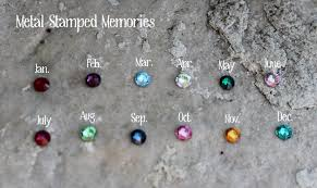 birthstone necklaces for personalized jewelry sted jewelry stacking rings