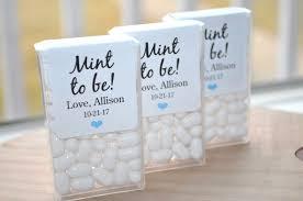 wedding favor labels bridal shower favors tic tac labels mint to be wedding favors