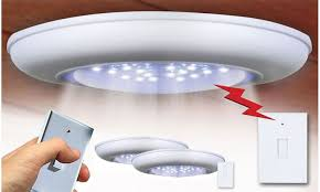 switch n bright remote controlled lights 2pk 3pk 4pk groupon