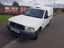 mazda b2500 2 5 diesel pick up truck truckman top good clean