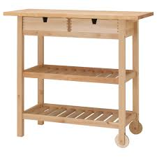 kitchen island trolleys förhöja kitchen trolley birch 100x43 cm ikea