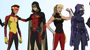 comic con 2017 young justice season 3 new character designs