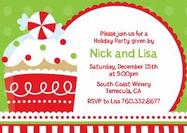 christmas invitations christmas cupcake christmas invitations candles and favors