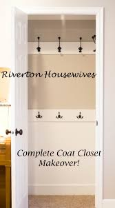 Closets Without Doors by Coat Closet Makeover A Tutorial Hall Closet Tutorials And