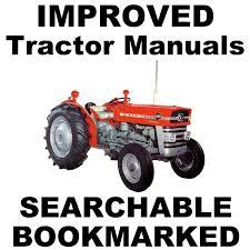 massey ferguson tractors mf 148 u0026 135 perkins service repair
