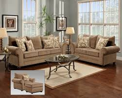 vintage living room with kelly maya bark sofa set and dark brown
