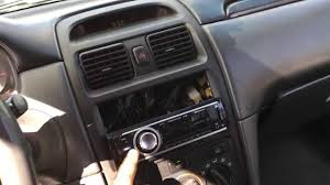 how to rewire stock amp speakers in a toyota salora stereo wire
