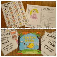 Character Trait Worksheet A Place Called Kindergarten Character Traits In Kindergarten