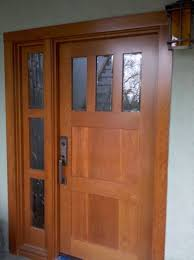 Solid Wooden Exterior Doors Made Custom Solid Wood Interior And Exterior Doors By