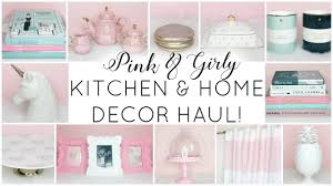 girly kitchen u0026 home decor haul homegoods tj maxx marshalls