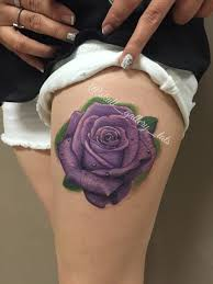 purple rose tattoo u2026 pinteres u2026