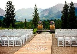 Wedding Site Weddings Crested Butte Mountain Resort
