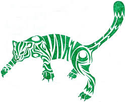 clipart library more like leopard tribal tattoo design by cherry