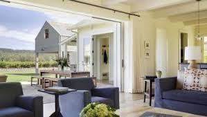 Nook Sofa Jardan Beach House Table Lamp Wood Ceiling Floor Patio Door Coffee Blue
