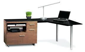 Modern Corner Desks Modern Corner Desk Curved Espresso Contemporary Intended For 12