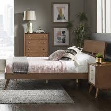 modern u0026 contemporary loft queen platform bed allmodern