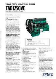 tad1250ve volvo penta pdf catalogue technical documentation