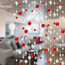home party decoration 17 color 20 meter fashion home party decoration arylic glass