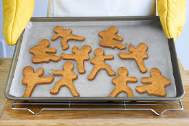 amazon com fred ninjabread men cookie cutters set of 3 kitchen