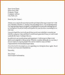 6 sample thank you letter after job interview sales report template