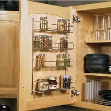 Cabinet Door Mounted Spice Rack Spice Racks Door Mounted Spice Racks Kitchensource