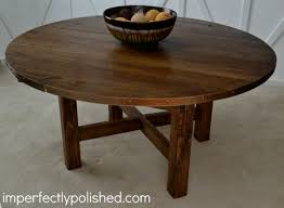 this diy rustic round table would be great for the cake or a photo