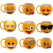 kitchen emoji 8 style emoji mugs with retail box package 2017 new arrival
