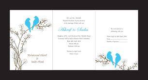 wedding card design cloveranddot com