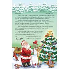 personalized letter from santa personalized letter from santa kimball