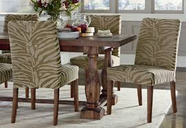 Zebra Dining Room Chairs by Stretch Zebra Dining Chair Slipcover