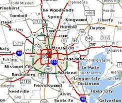 map of houston area houston apartment selector