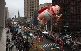 detroit a city on the rise thanksgiving day parade the