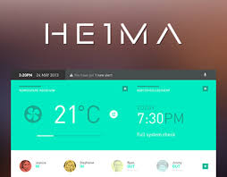 heima is a smart home user interface it is a project i did for my