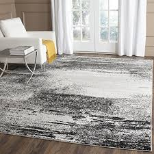 Modern Abstract Area Rugs Safavieh Adirondack Collection Adr112g Modern Abstract Silver And