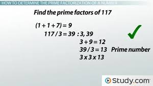 how to find the prime factorization of a number lesson transcript study com
