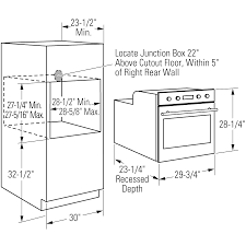 wall oven cabinet width double wall oven double wall oven width