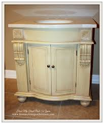 Kirklands Vanity From My Front Porch To Yours Farmhouse Guest Bathroom