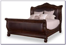 King Size Leather Sleigh Bed Leather Sleigh Beds South Africa Bedroom Home Design Ideas