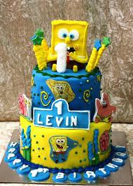 spongebob cake ideas bob cake 5